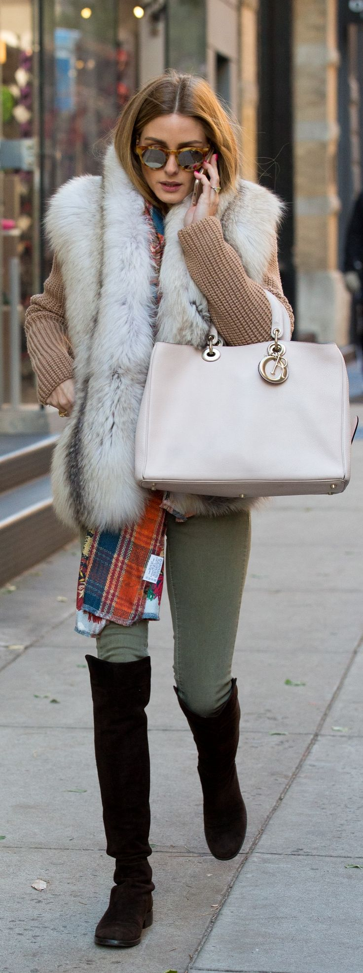 Olivia's one major styling trick for Fall.