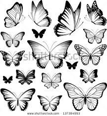 Image result for simple butterfly tattoos