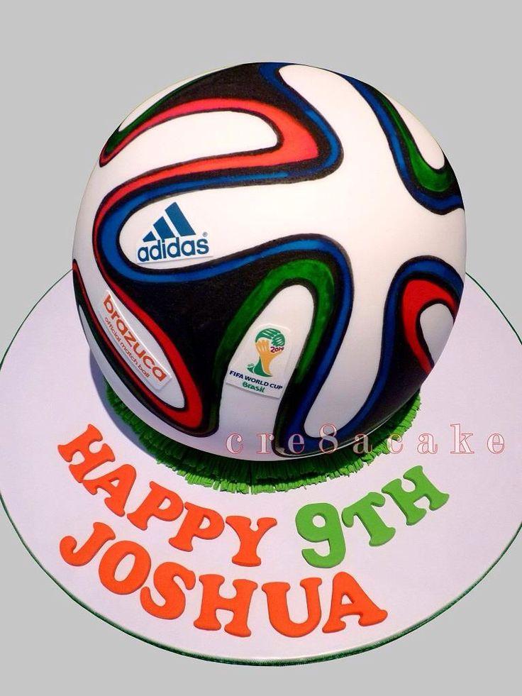 How To Design A Soccer Ball Cake