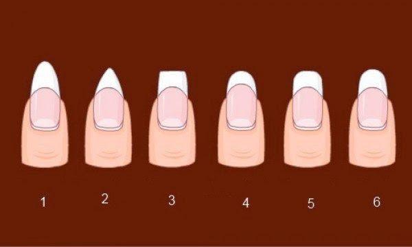 КАКАЯ ФОРМА НОГТЕЙ ТЕБЕ ПОДХОДИТ   Красивый маникюр во многом зависит от формы ногтей. Правильная форма добавит твоим пальцам изящества и...