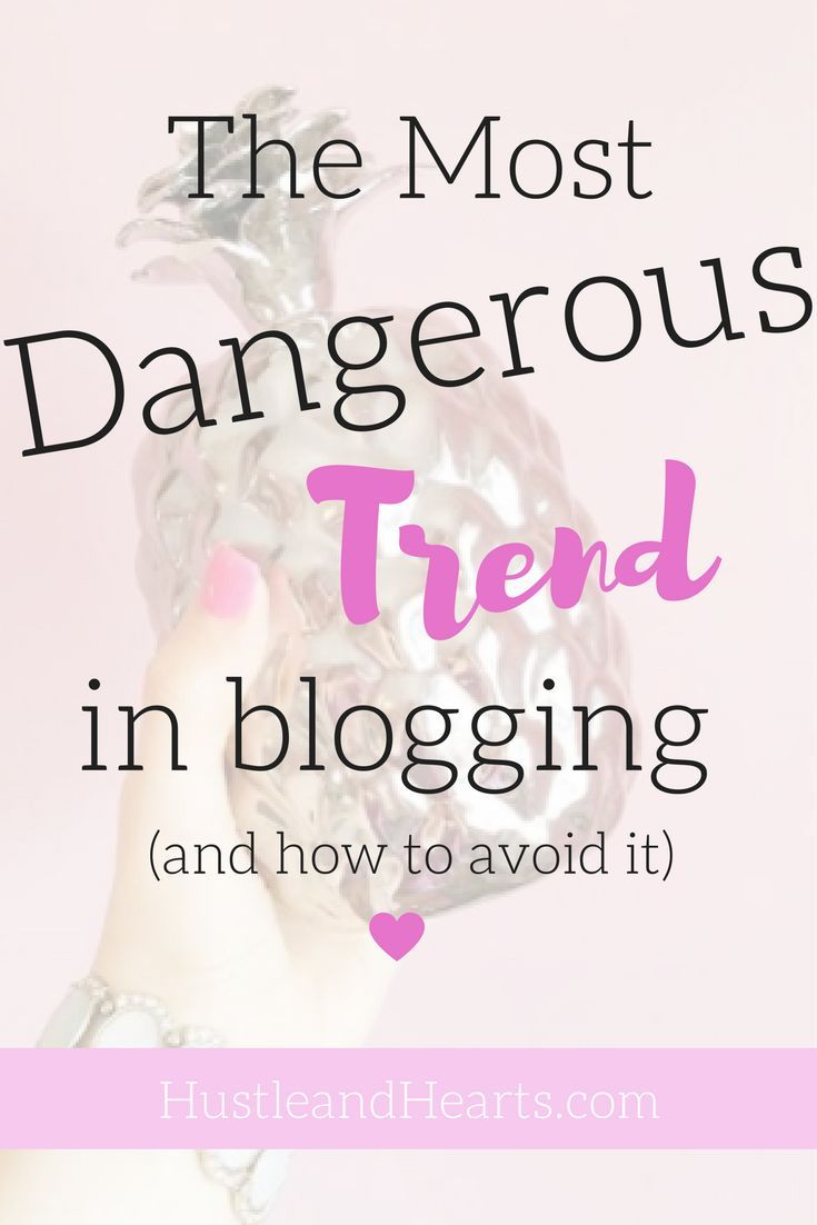 There is one trend in blogging that I guarantee is affecting your work productivity and confidence in your blog. Learn what it is and how to avoid it, so you can run your blog successfully   blogging tips, blogging motivation, blog advice, how to write a