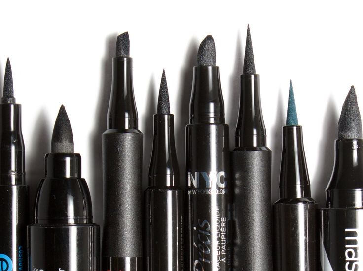 12 Felt-Tip Eyeliners from $3 to $35