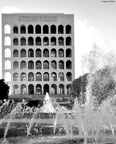Rome ♠ EUR fountains | da Capitan Mirino ( il Tartarughino )