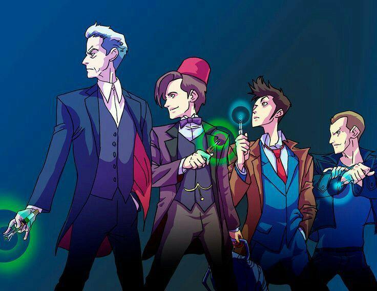 9, 10, 11, & 12 ♥ #DoctorWho