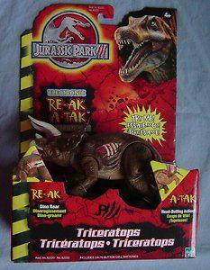 Jurassic Park III Electronic Triceratops @ niftywarehouse.com #NiftyWarehouse #JurassicPark #Jurassic #Dinosaurs #Film #Dinosaur #Movies