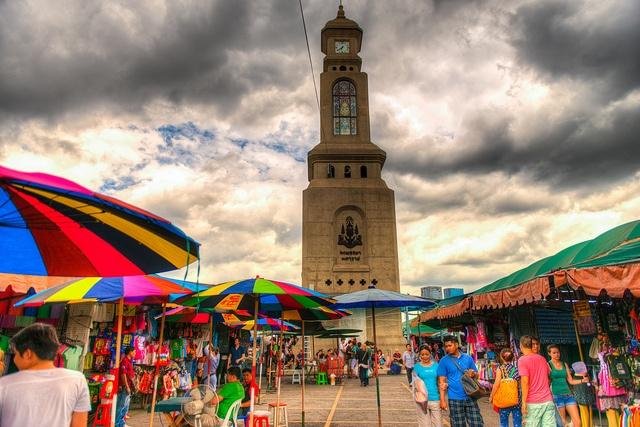 Weekend Market, Chatuchak Market, Bangkok: HDR photo