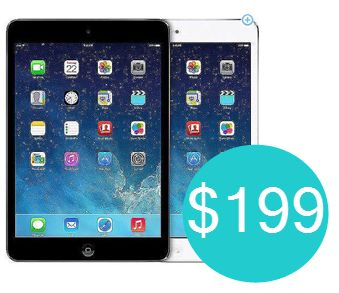 Walmart: iPad Mini 2 16GB with Wi-Fi Only $199.99 - http://www.swaggrabber.com/?p=281913