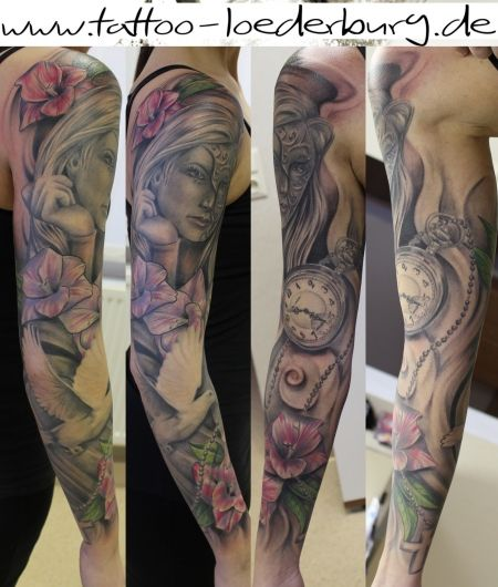 650 best images about tattoo mix on pinterest tatuajes for How to blend tattoos into a sleeve