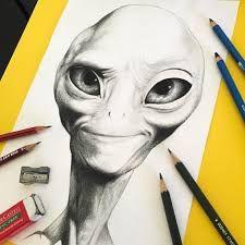 Resultado de imagen para aliens dibujos paul