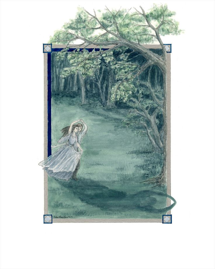 """Shadow-Bride""  by Erika Rae Heins"
