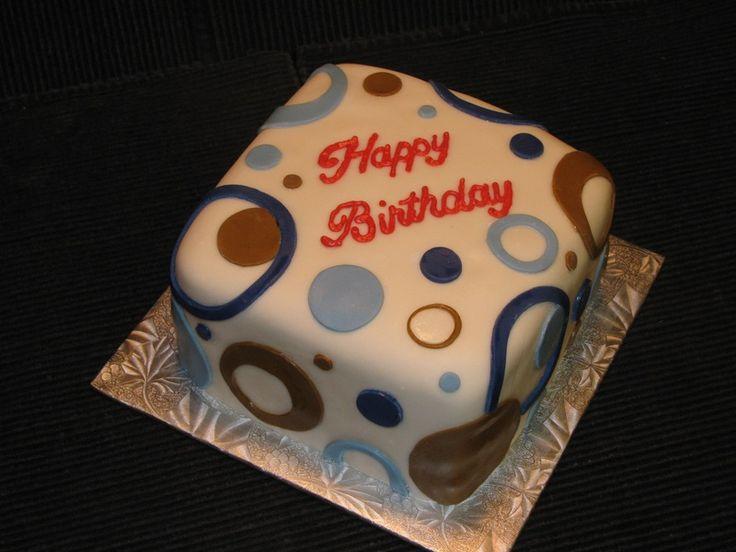Happy Birthday Cake Male