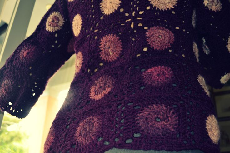 Crochet Cardigan  ~Made by Ioanna
