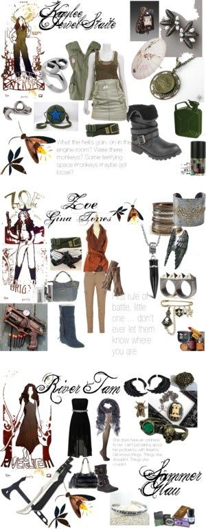 Firefly Serenity by holysmokinkitty on Polyvore. I just love kaylee's outfits