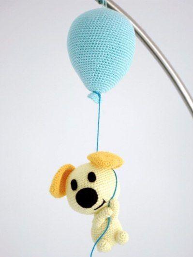 Собачка на воздушном шарике