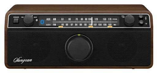 Sangean WR-12BT FM / AM / Bluetooth Wooden Cabinet Receiver | The Listening Post Christchurch