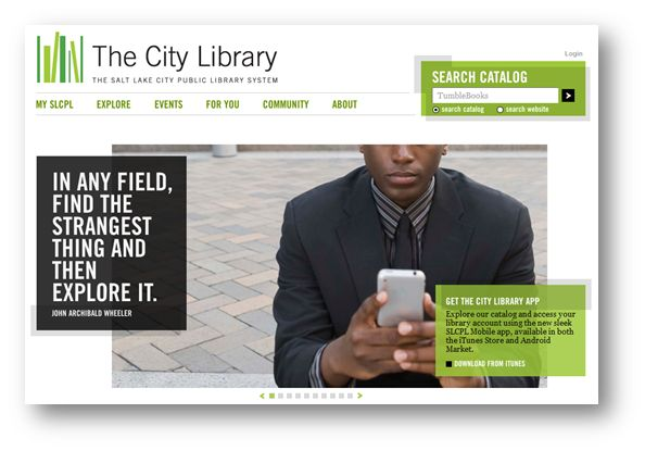 20 Great Public Library Websites - Blog - mattanderson.orgBlog – mattanderson.org