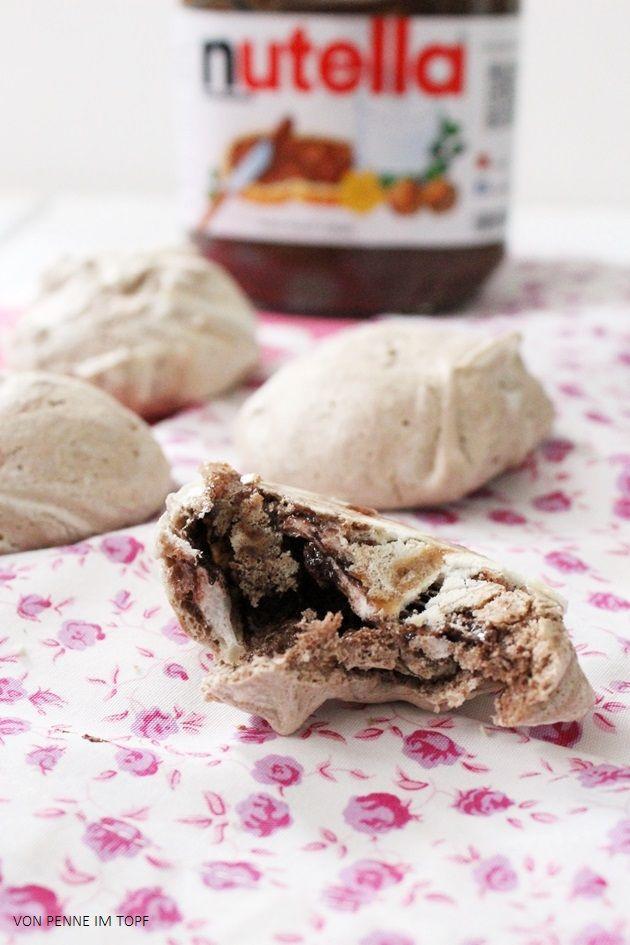 Penne im Topf: Überraschend schnelle Nutella - Meringues