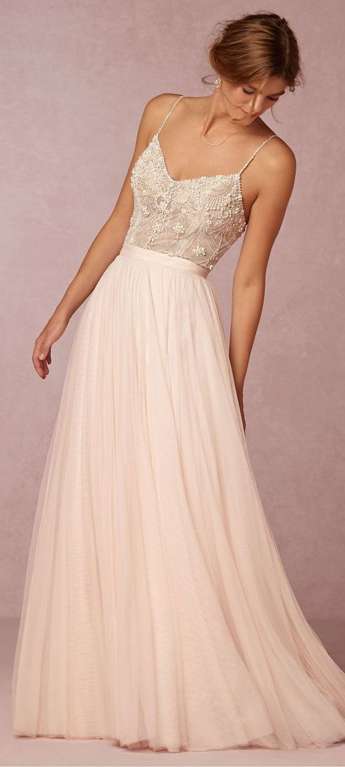09b30c606c29 Nude and Blush Gowns | EDGY | Sophisticated wedding dresses, Wedding dresses,  Bridesmaid dresses
