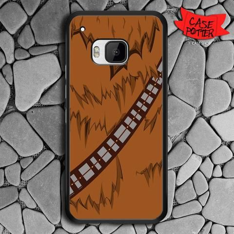 Brown Body Chewbacca Star Wars HTC One M9 Black Case