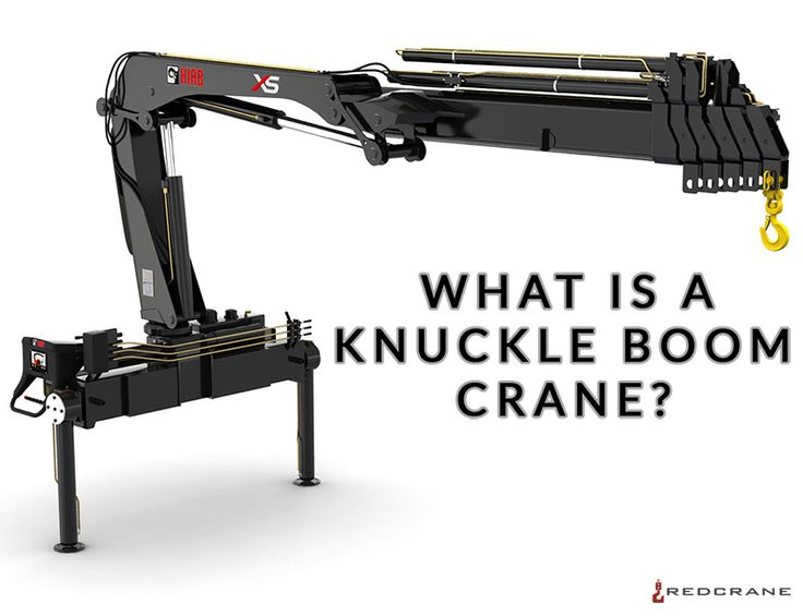 What is a #knuckleboom #crane? #hiab #palfinger #fassi #effer #ladekran http://www.redcrane.com/what-is-a-knuckle-boom-crane/