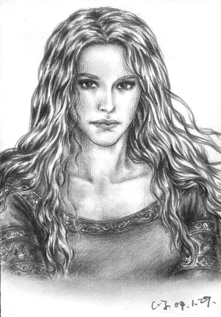 The Silmarillion - Nienor by ainarian.deviantart.com on @deviantART
