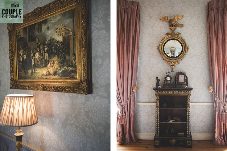 Inside the house. Weddings at Tankardstown House by Couple  Photography.