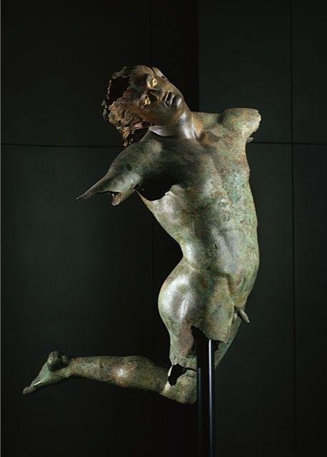 Satiro danzante - Grecia, periodo ellenistico - III-II sec. a.C. - Museo del Satiro, Chiesa di Sant'Egidio, Mazara del Vallo - photo Scala, Firenze