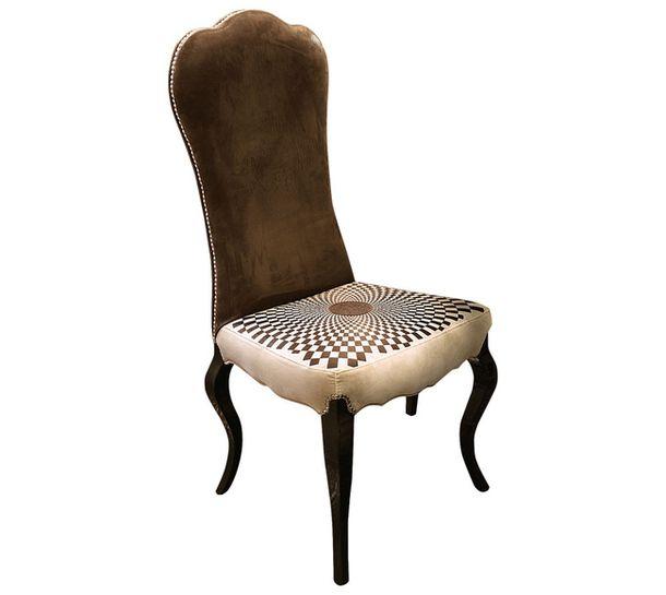 Деревянно-металлический стул