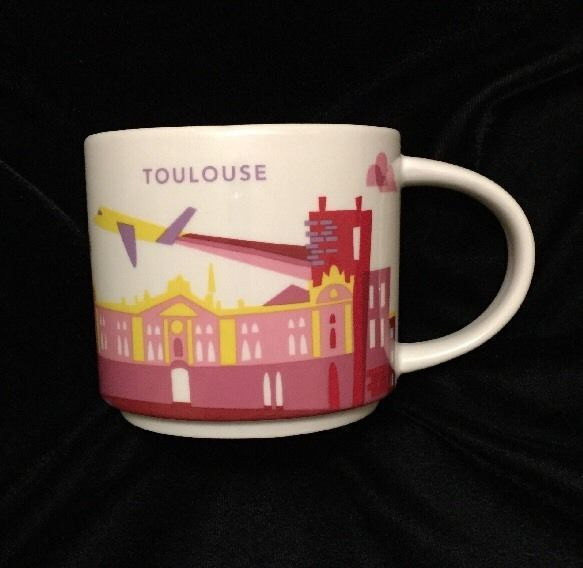 Starbucks Toulouse YAH Mug Plane Pink Space Coffee Cup You Are Here France New | Collectibles, Advertising, Food & Beverage | eBay!