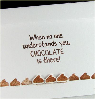 Chocolate is there #mrscavanaughs #chocolate #quotes