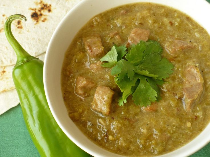 Green Chili ~ Crazy good! Even though I was too lazy to roast my own chilies and used canned roasted ones instead. Could use at least another half pound of pork though.
