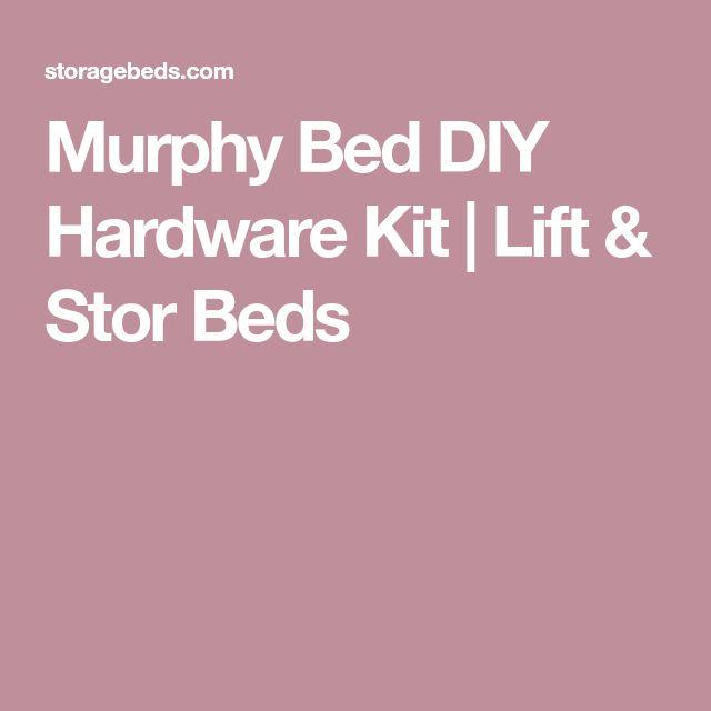 Murphy Bed DIY Hardware Kit | Lift & Stor Beds