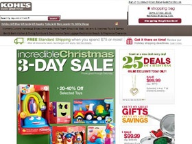 Kohl's Coupons good till 12/03/2012