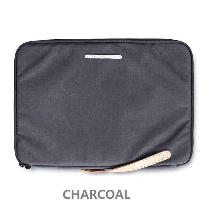 "RAWROW Zipper bag Men Women Casual Handbag Laptop Sleeve Case 15"" Pouch Charcoal #RAWROW"