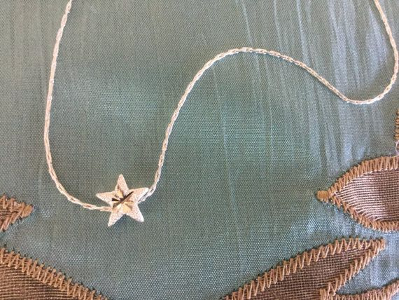 Star Necklace Sterling Silver Necklace Women's Chain by Ivanwerks