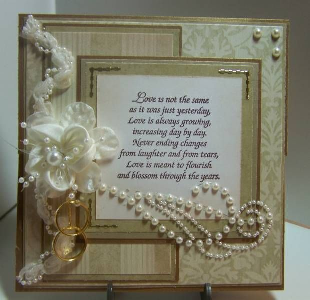 50th Wedding Anniversary by tbk100601 Cards