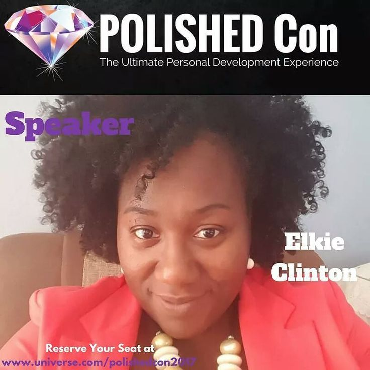 #POLISHEDCon2017 #SpeakerAlert  Come meet Elkinsette Clinton @savvymomelkie_   CEO & Founder of Savvy Moms Unite at POLISHED Con 2017!  Elkinsette Elkie Clinton is an Educator Speaker Best-Selling Author Career and Financial Coach. She is the CEO & Founder of Savvy Moms Unite!  As CEO of Savvy Moms Unite Elkie works with moms to not only go after the career of their desire but also become financially savvy. Her mission is to ensure they secure their financial future by using simple and…