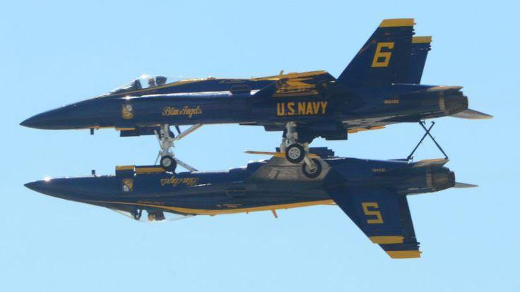 アメリカ海軍所属のアクロバット飛行隊、ブルーエンジェルス
