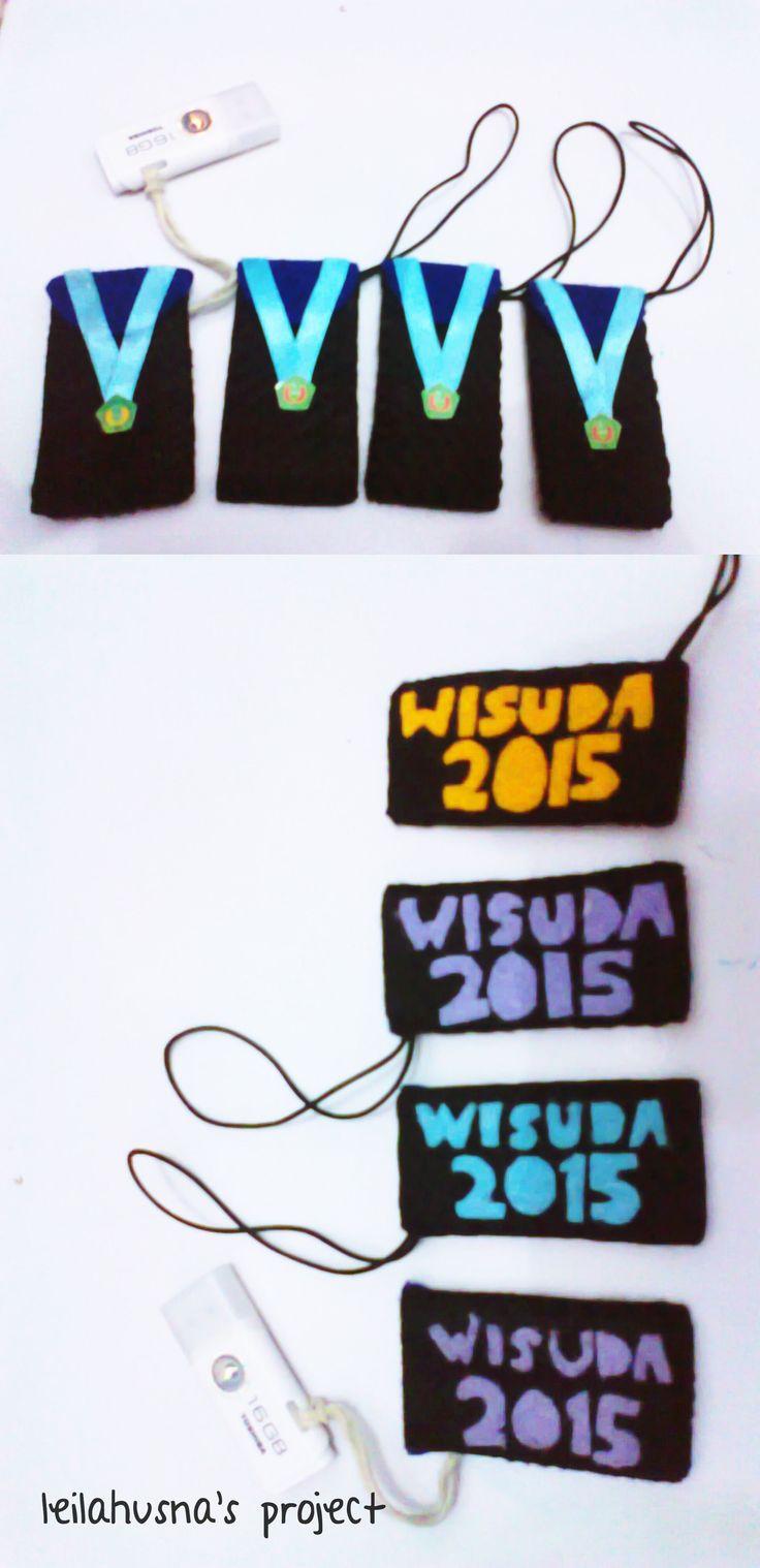 Graduation Flashdisk (using flanel)
