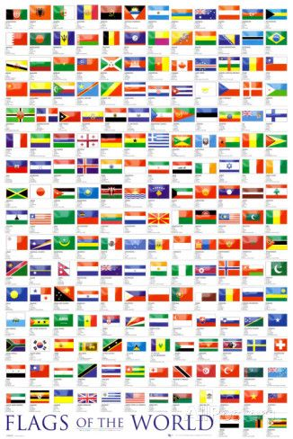 Flags of the World Posters at AllPosters.com