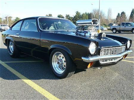 Blown Chevy Vega! Looks a lot like ours did