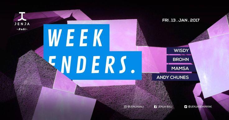 Jenja Weekenders > Bali Event Calendar