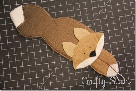 Fox Coffee Cup Sleeve - Crafty Staci 8