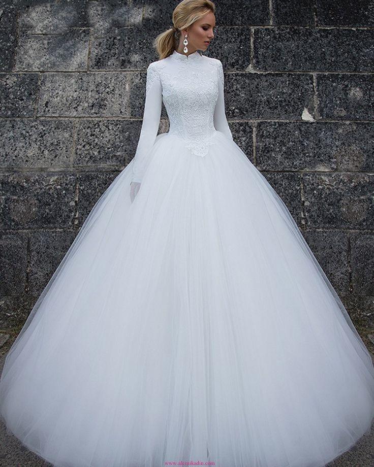 Uzun Kollu Gelinlik Modelleri 3 | Alemi Kadın | Moda ve Kadın Bloğu