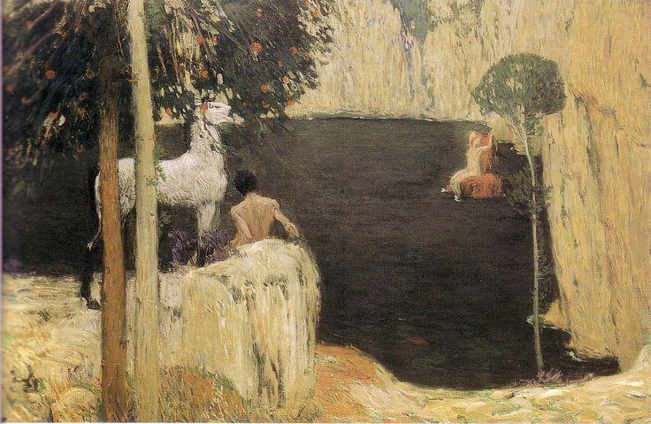 Jan Preisler, The Black Lake, 1904
