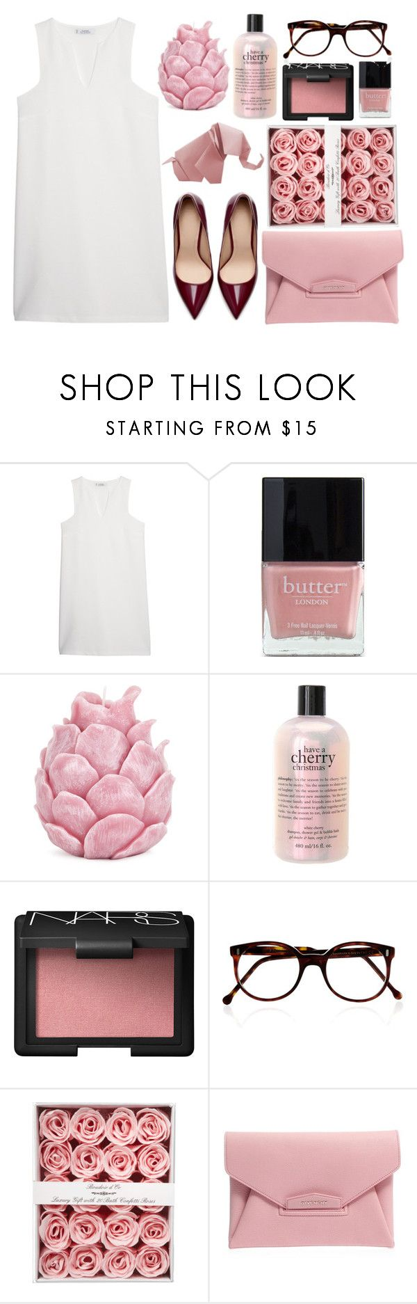 Zara home to open in toronto -  Elephant Pink Spirit By Farahhind Liked On Polyvore Featuring Mango Butter London Zara Homecutler