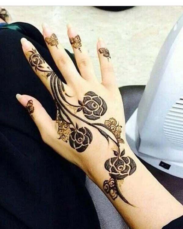 Simple And Beautiful Henna Design 2019 Henna Designs Hand Rose Mehndi Designs Khafif Mehndi Design