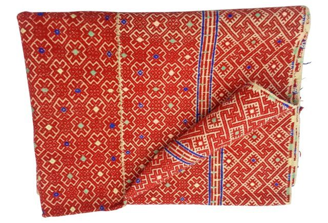 Hmong Wedding Dowry Quilt