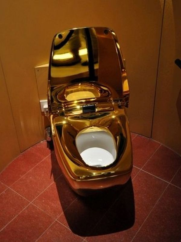 my golden toilet paper should go well in here World s most expensive  toilet  This incredibly luxury intensive toilet is made entirely of 24  karat gold 148 best The Loo images on Pinterest   Bathroom ideas  Toilet  . 24k Gold Toilet Paper. Home Design Ideas