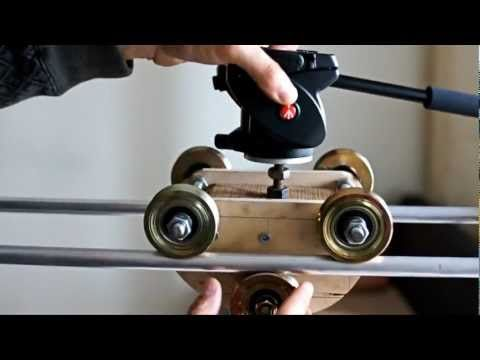 MY DIY CAMERA SLIDER (DOLLY)